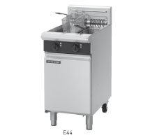 E44 TWIN PAN ELECTRIC FRYER 450mm