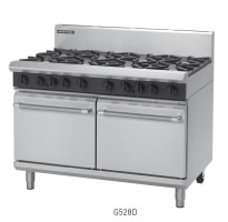 G528D, G528C, G528B, G528A, GAS RANGE DOUBLE STATIC OVEN 1200mm