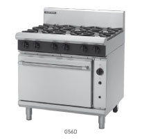 G56D, G56C, G56B, G56A GAS RANGE CONVECTION OVEN 900mm