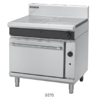 G570 GAS TARGET TOP GAS STATIC OVEN RANGE 900mm